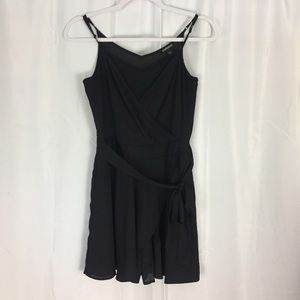 Express black skirted shorts romper Size 2